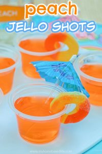 peach jell-o shots
