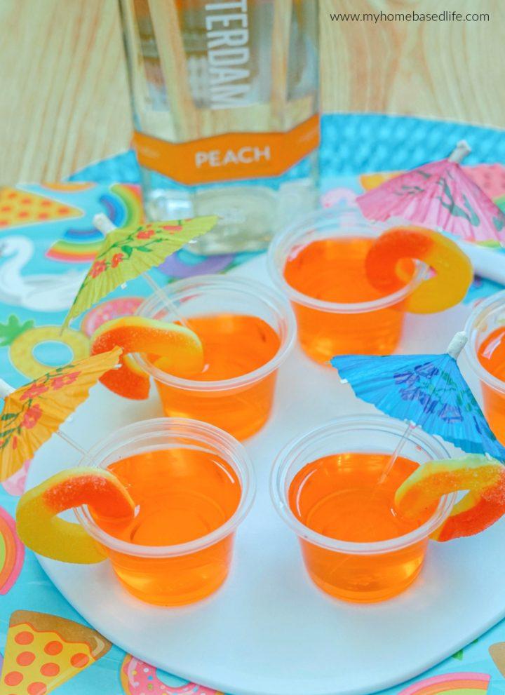 peach jello shots