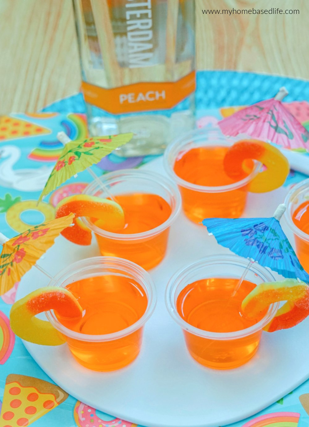 peach jello shots