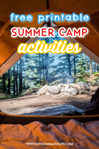 the summer camp activities for kids