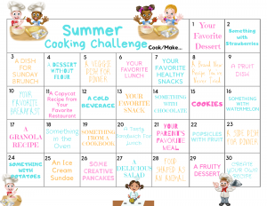 summer cooking challenge