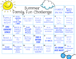 summer family fun ideas