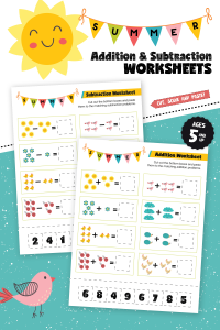 summer math practice worksheets