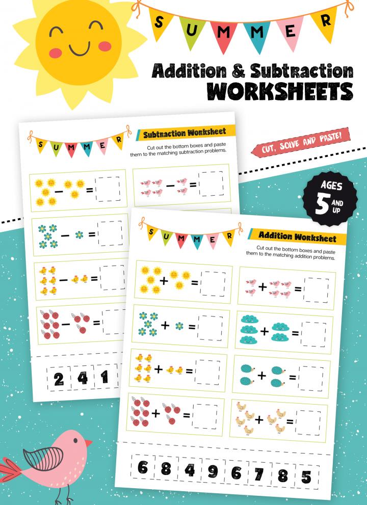 summer math practice worksheets