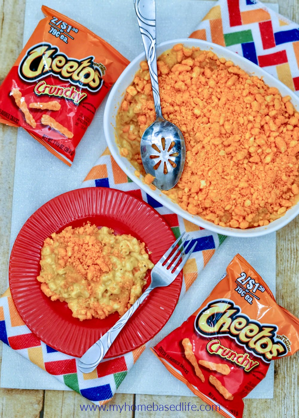 Cheeto macaroni recipe