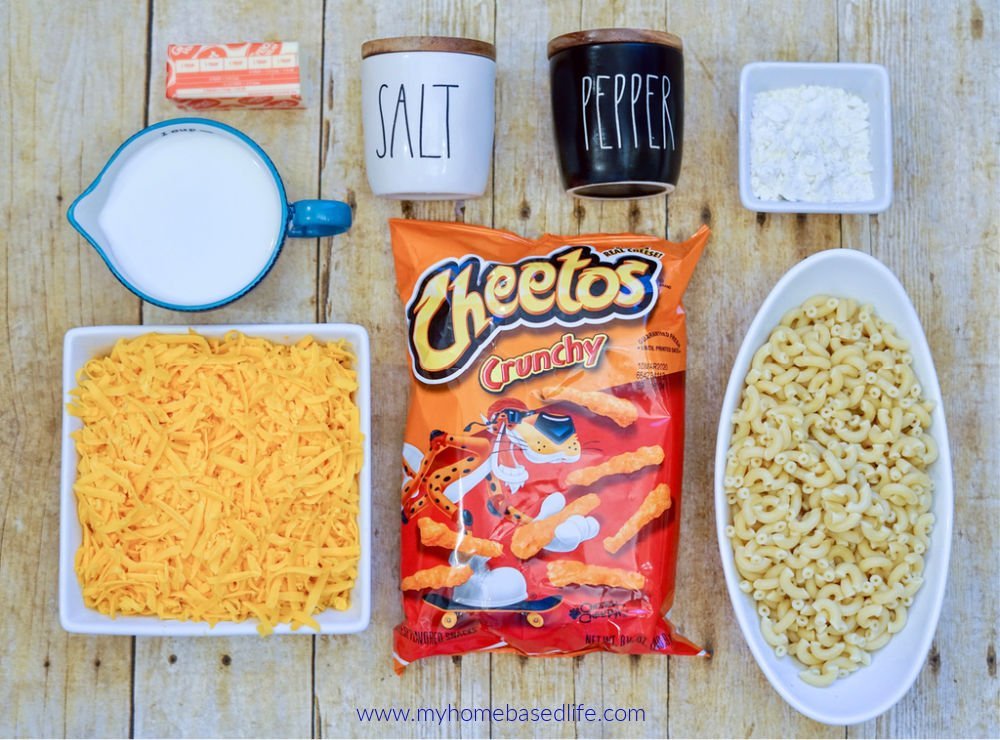 cheetos Mac ingredients