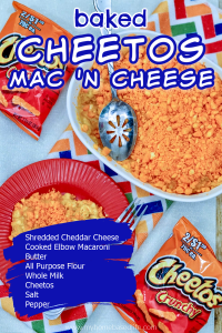 baked Cheetos Mac n cheese recipe