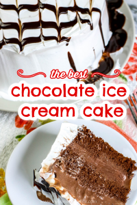 the best chocolate ice cream cake only 4 ingredients