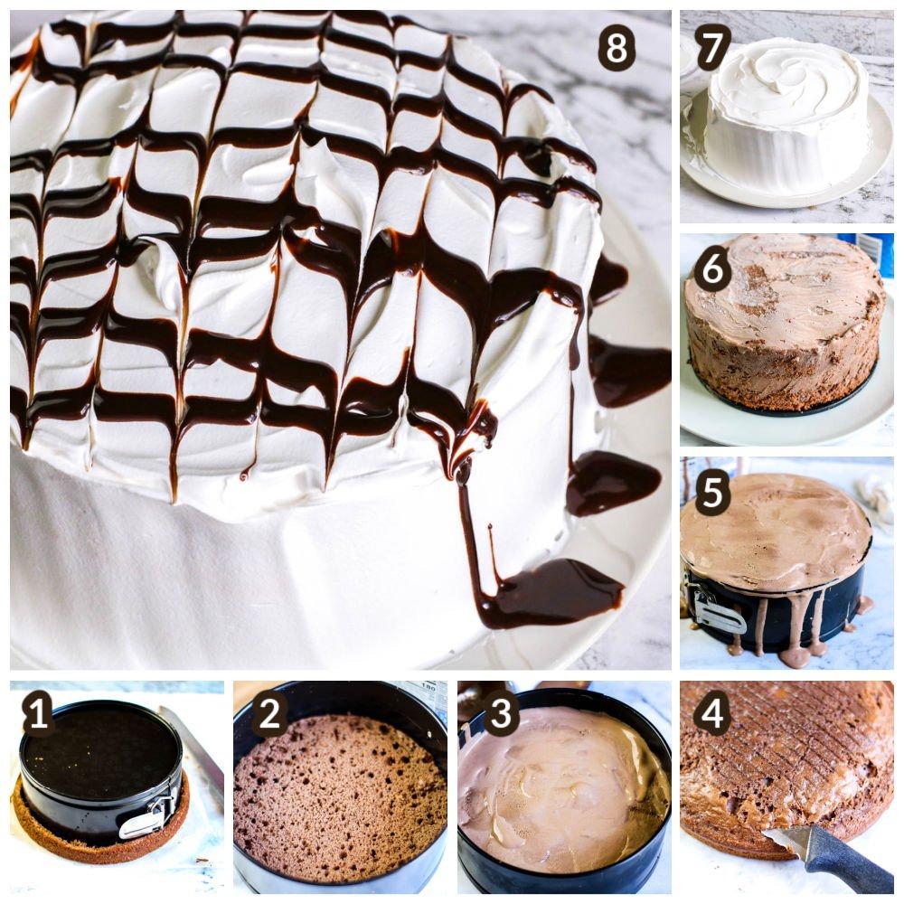 how to make homemade ice cream cake