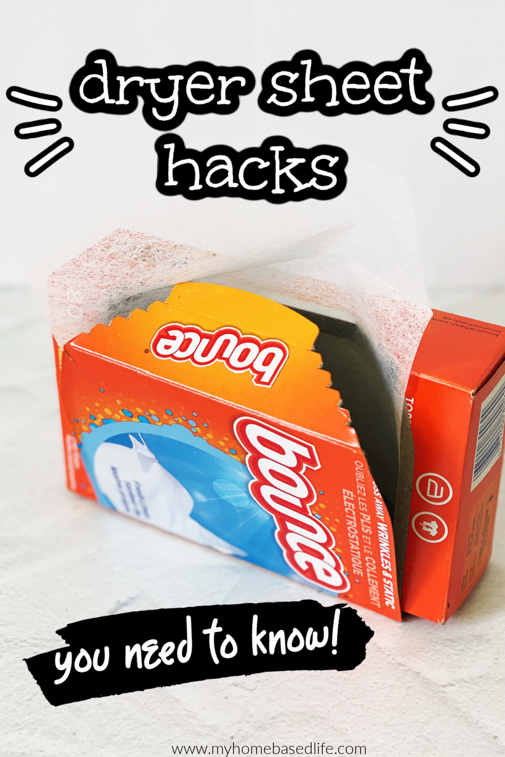 dryer sheet hacks for cleaning and more