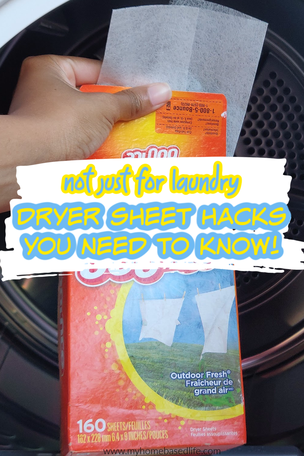 how to use dryer sheets around the house