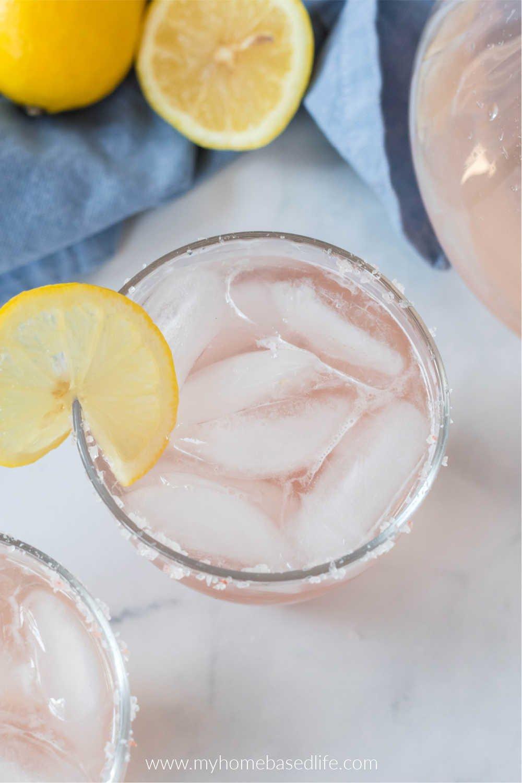 lemonade champagne margarita