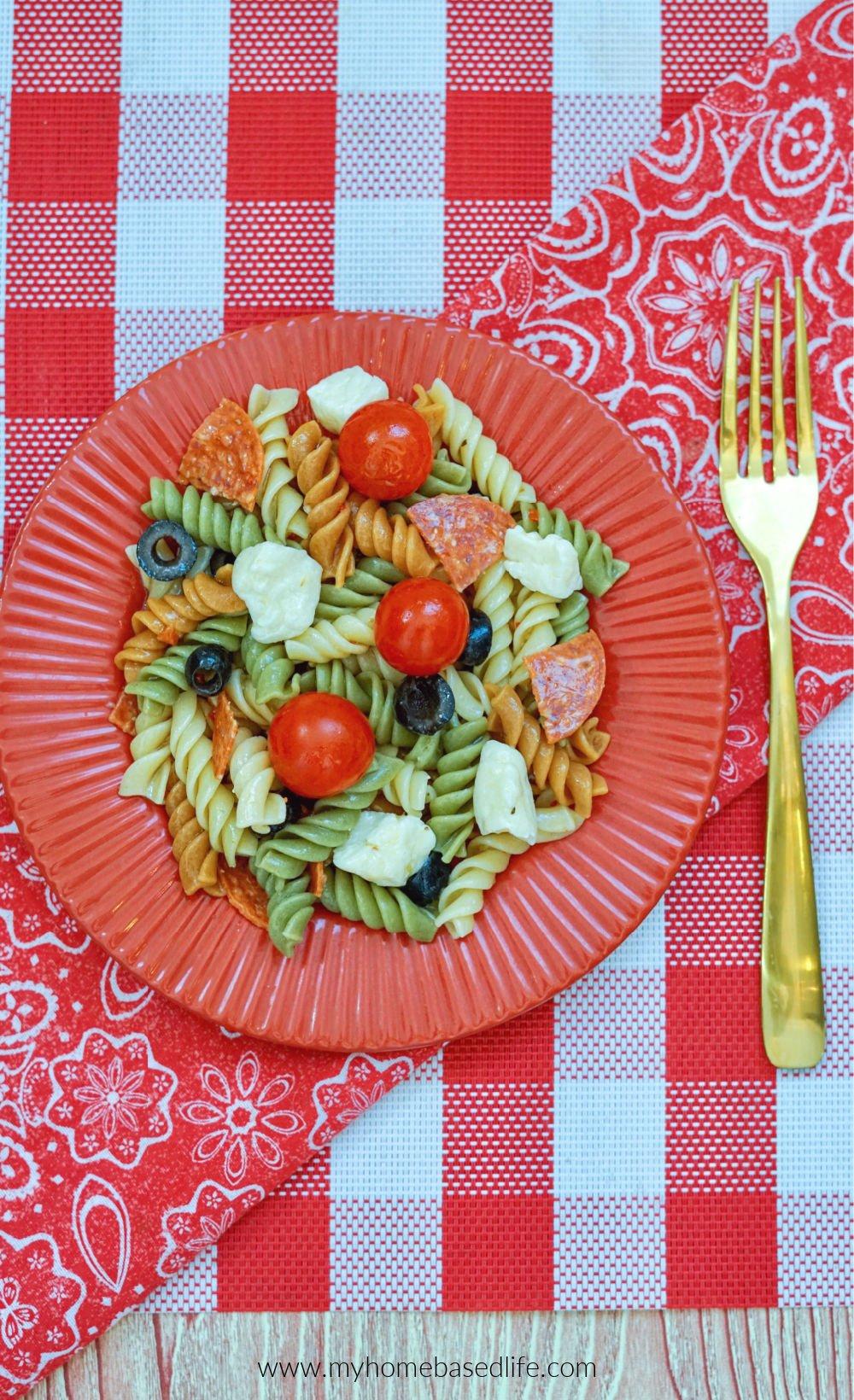 easy pasta salad recipe
