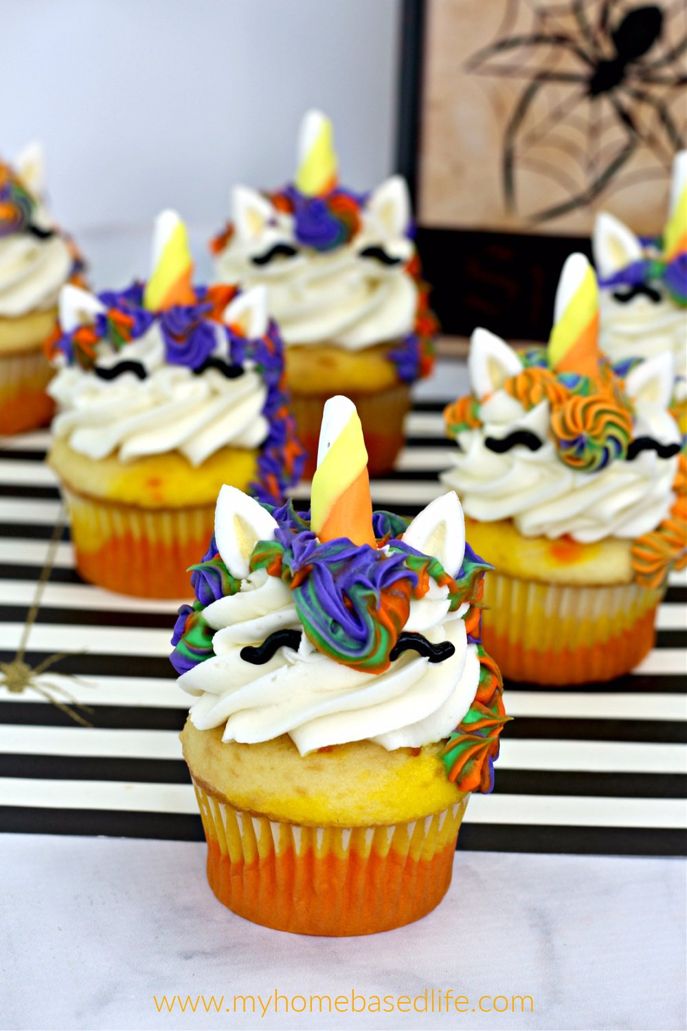 Unicorn Witch Cupcake