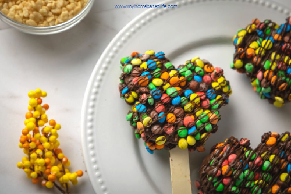 Copycat Disney Mickey Rice Krispie treats