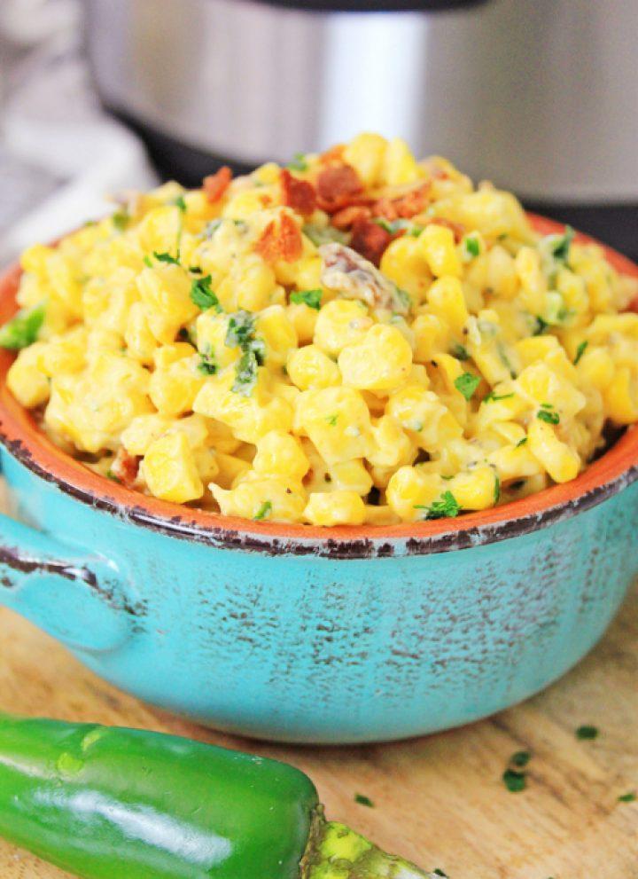 jalapeno corn dip in the instant pot