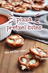 easy appetizer pizza pretzel bites