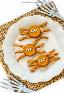 spider snacks for Halloween