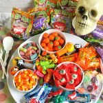 candy charcuterie for halloween