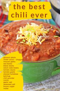 easy 20 minute chili recipe