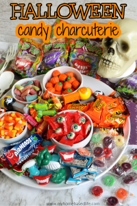 Halloween candy charcuterie