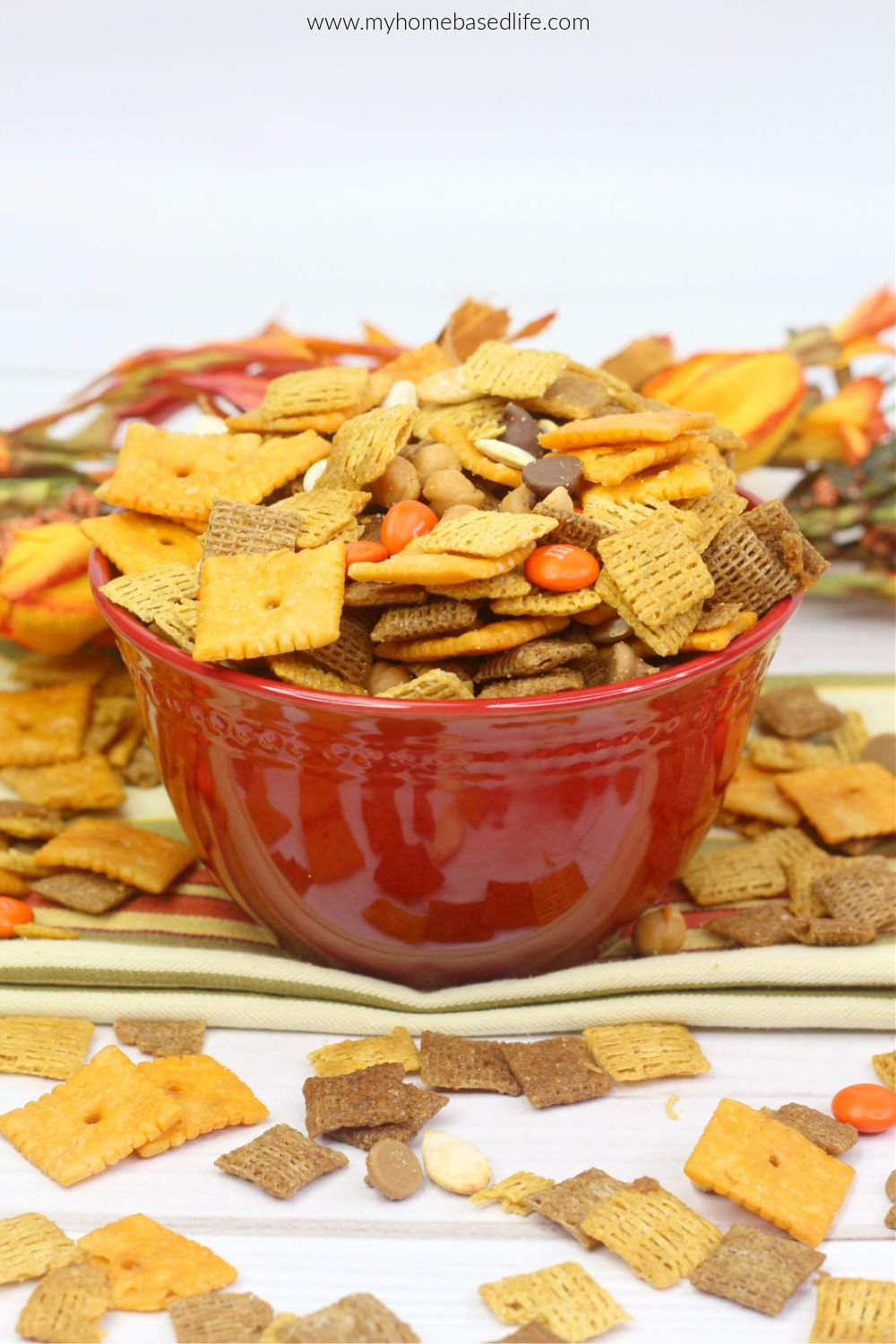 fall harvest snack mix recipe