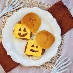 Halloween Cheeseburger Idee