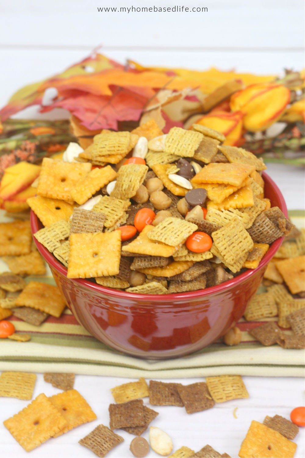 harvest fall Chex mix recipe