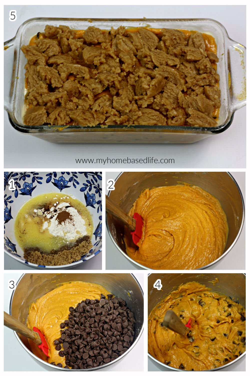 how to make pumpkin chocolate chip bread
