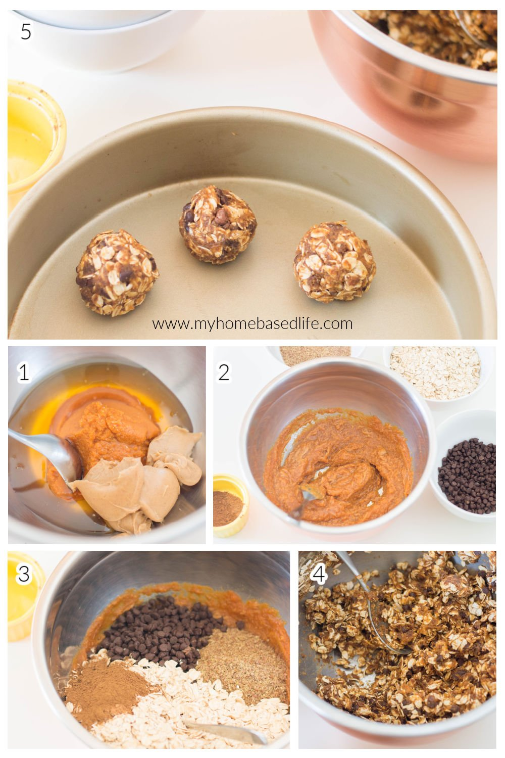 how to make pumpkin energy bites