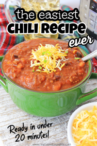 Instant Pot Chili Rezept