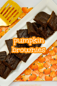 2 ingredient pumpkin brownie recipe