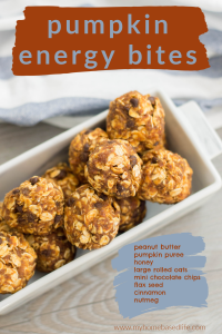 pumpkin energy bites recipe