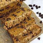pumpkin chocolate chip streusel bread