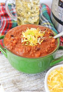 three bean instant pot chili