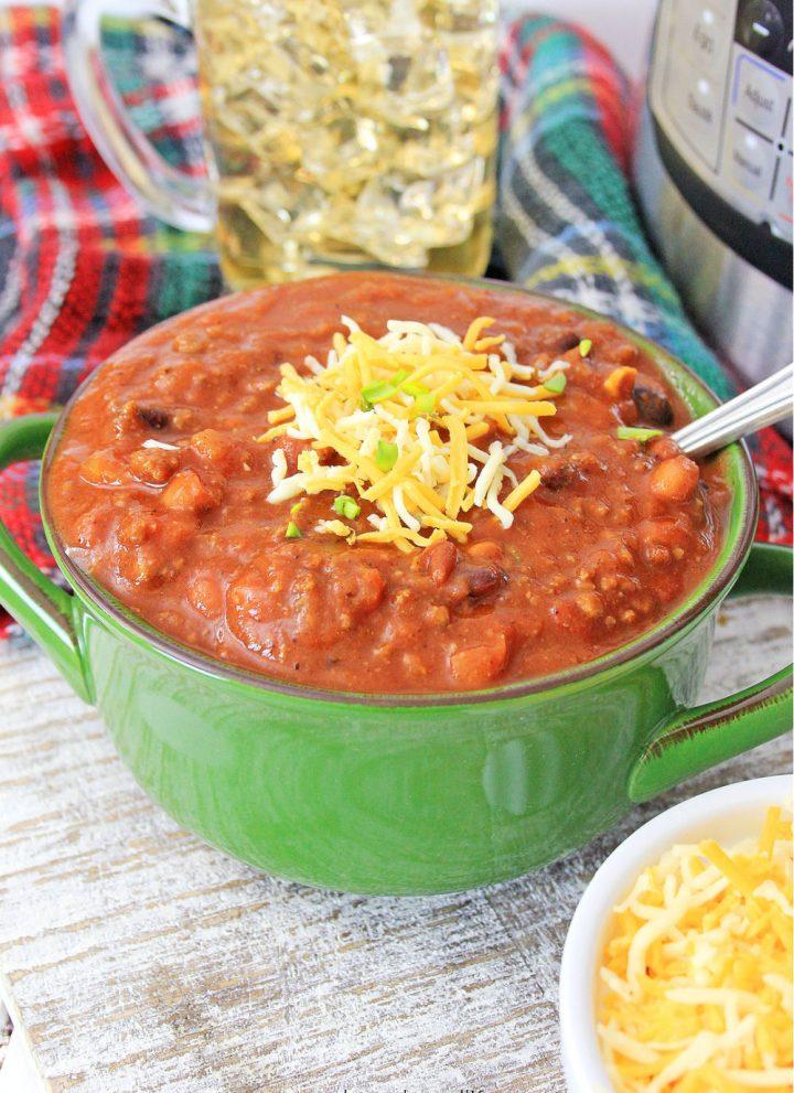 three bean instant pot chili
