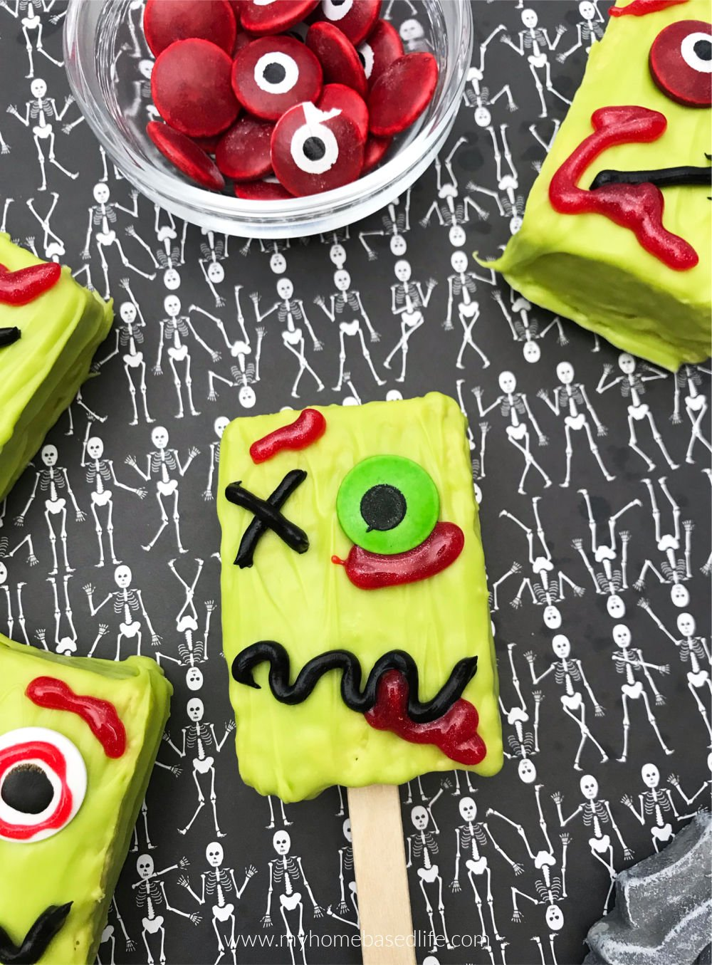 zombie treats for Halloween