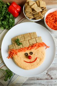 Scarecrow Cheese Ball recipe