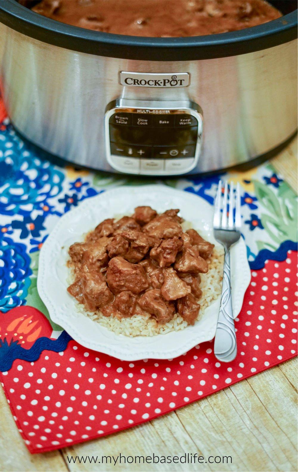 crockpot beef tips and gravy recipe
