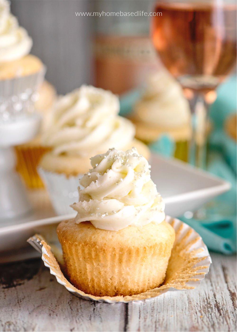 Champagner Cupcakes für einen besonderen Anlass