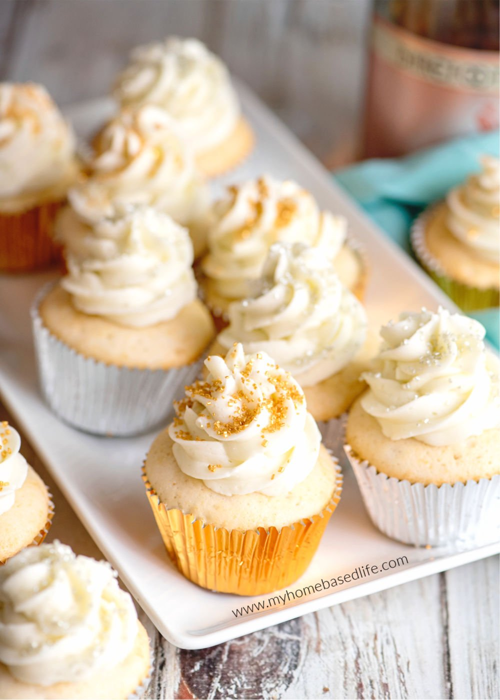 Champagner Cupcakes