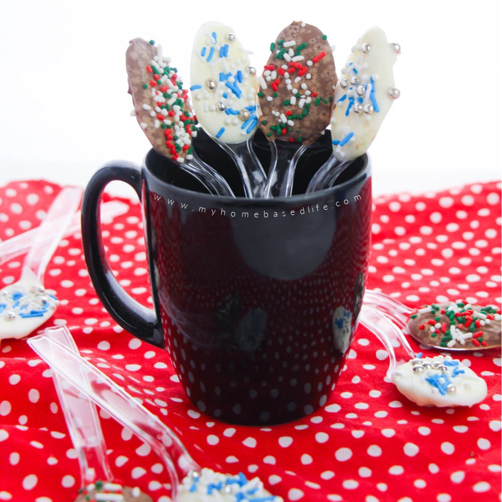 how to make chocolate spoons for hot cocoa and coffee