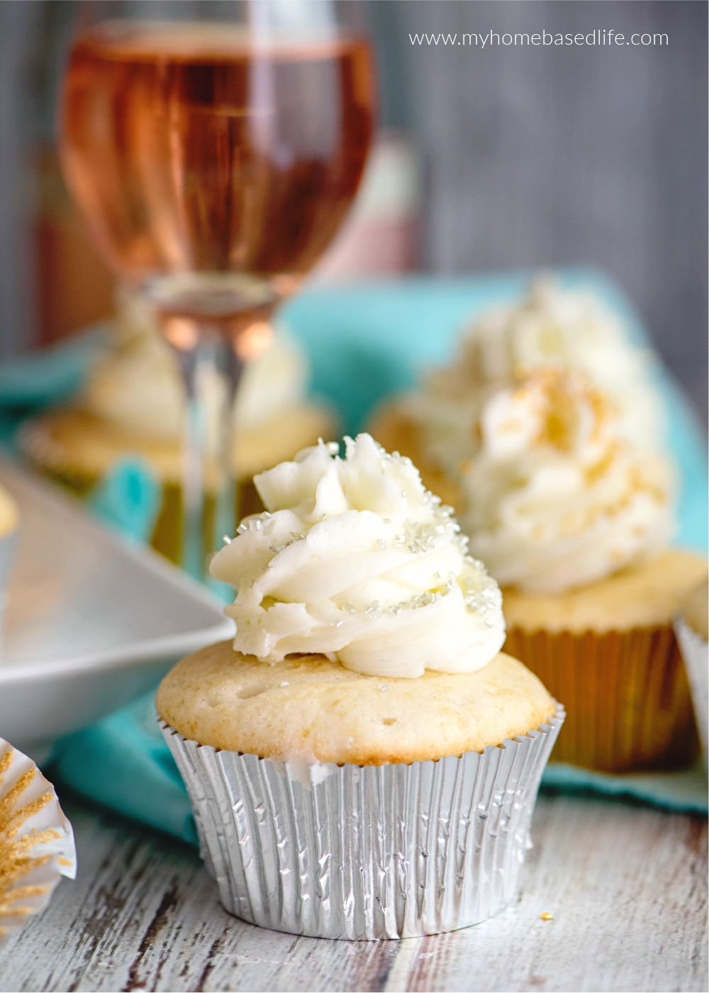 Cupcakes mit Champagner