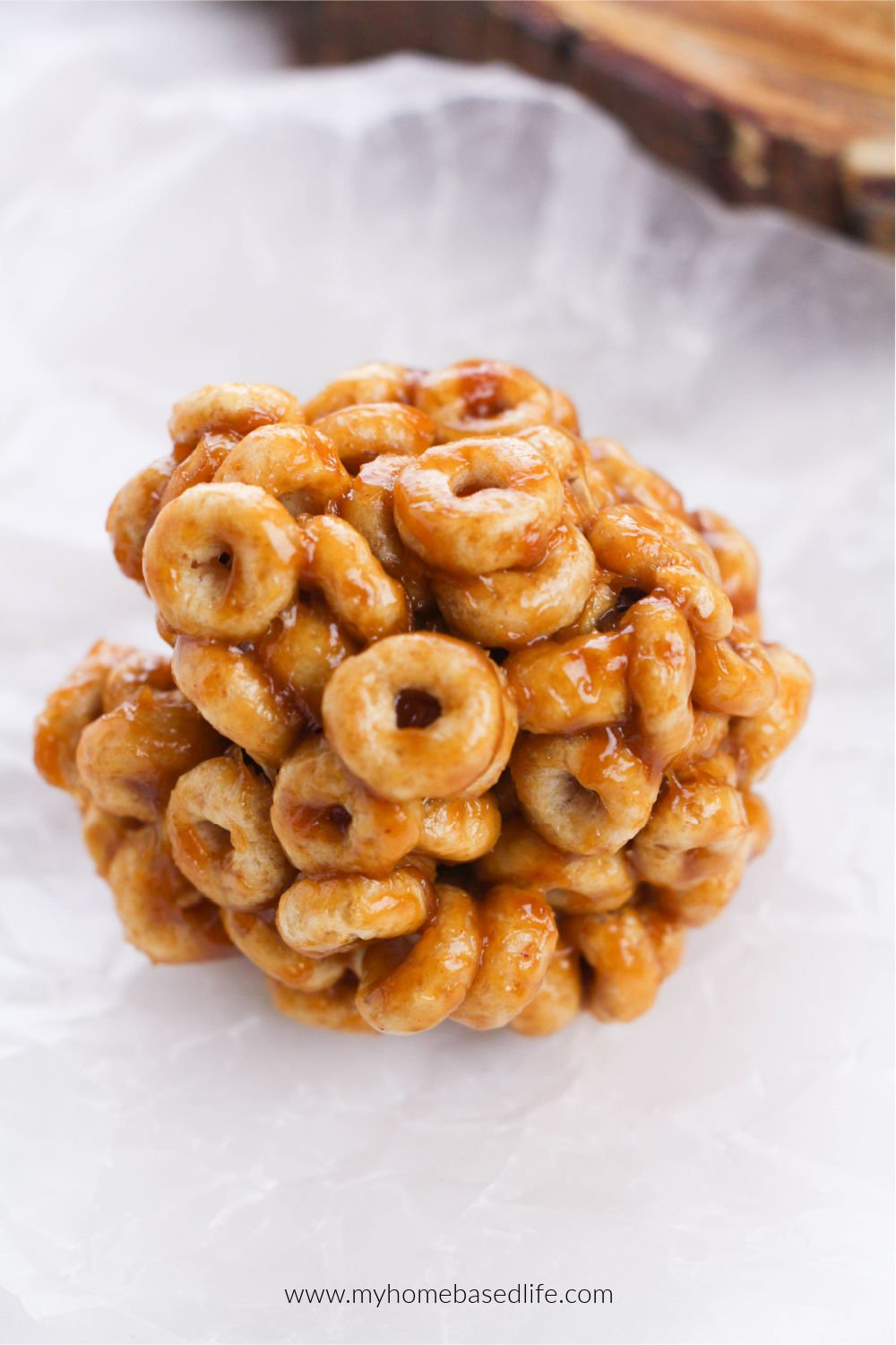 honey nut cheerio ball recipe