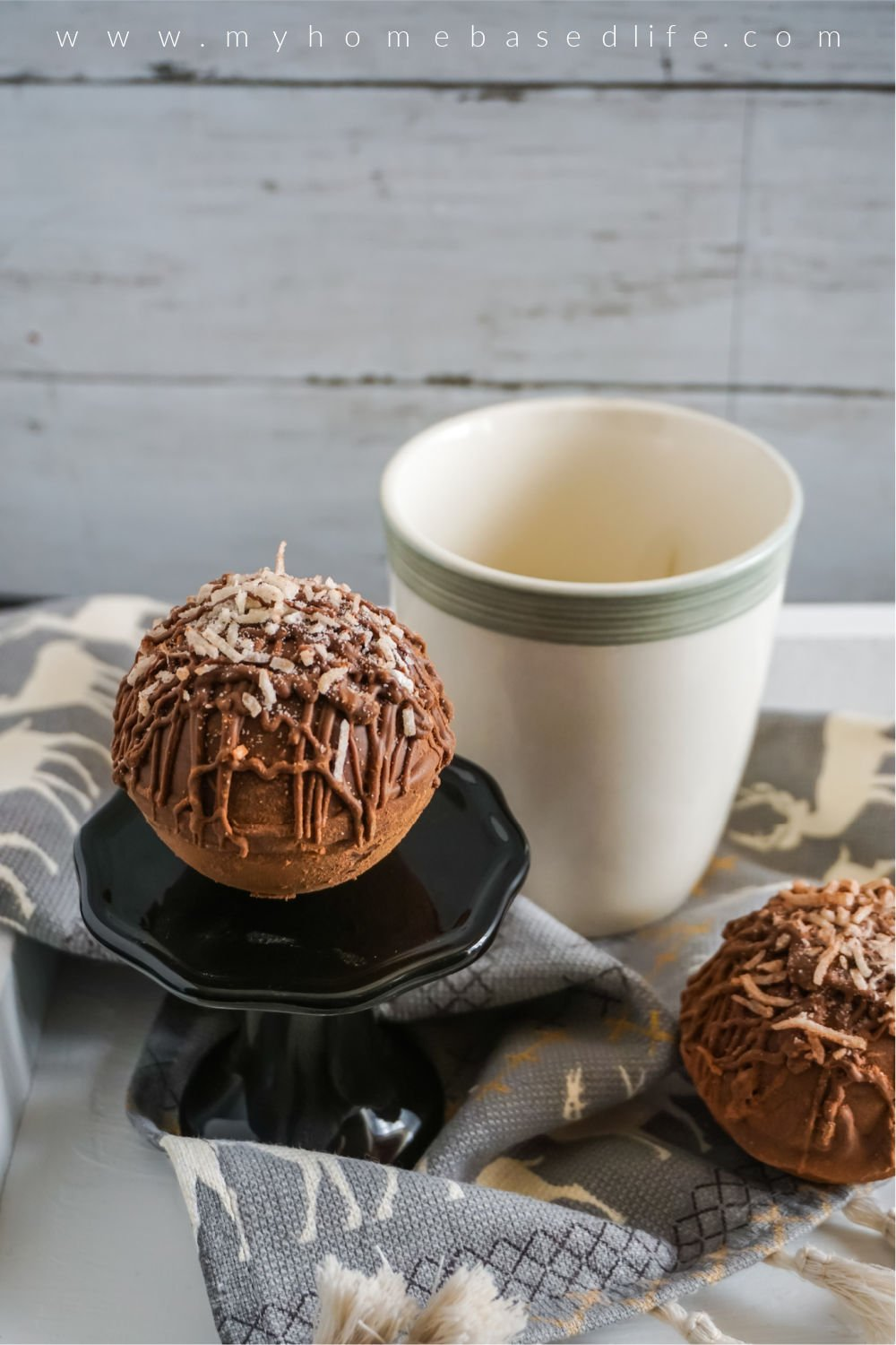 mounds hot chocolate bomb