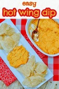 easy hot wing dip recipe