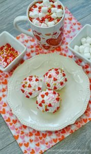 Valentine's Day hot chocolate bomb recipe