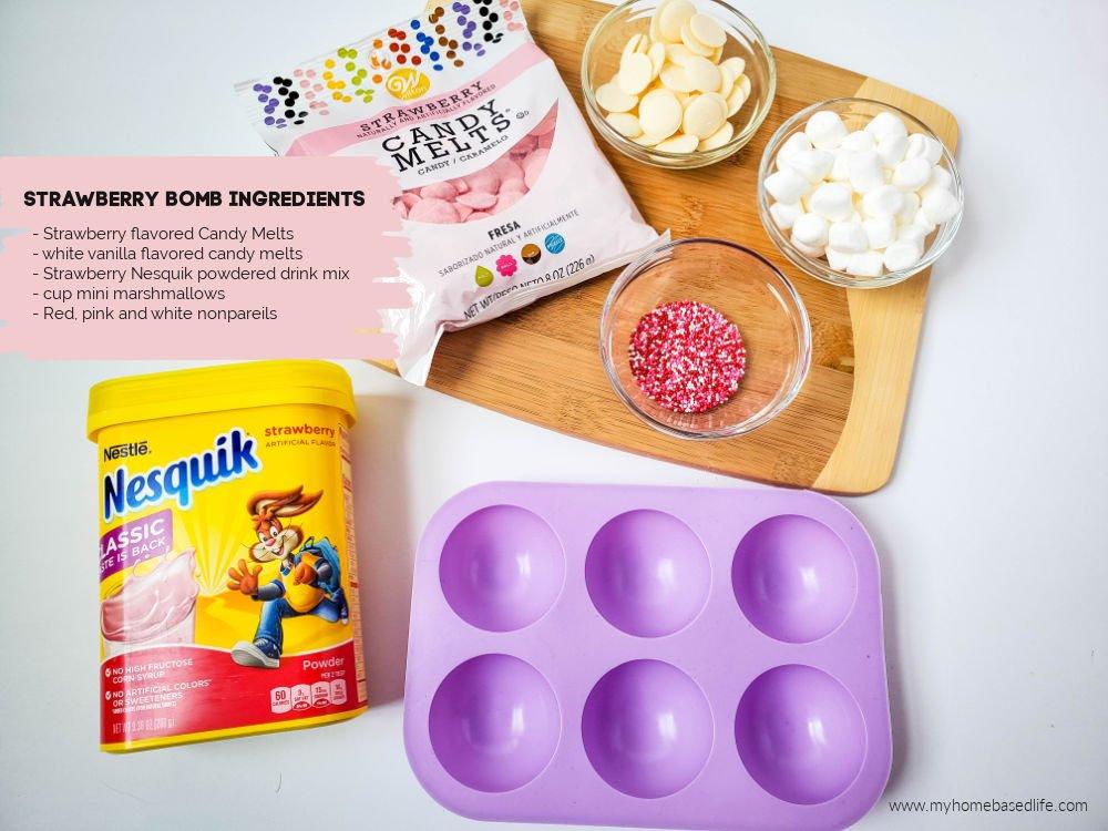 strawberry bomb ingredients