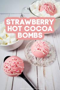 strawberry hot chocolate bomb recipe