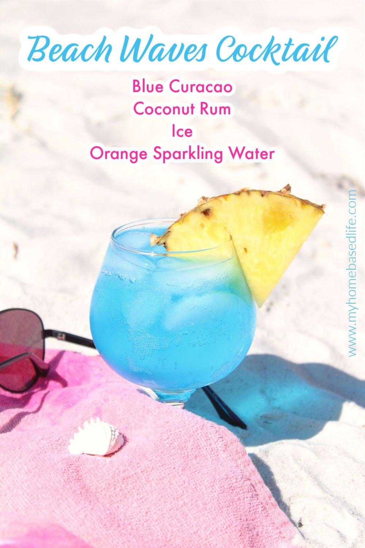 blue ocean cocktail recipe for summer